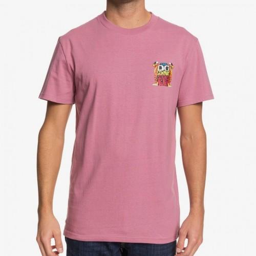 Camiseta DC Strikes Again Tee Mauve Orchid