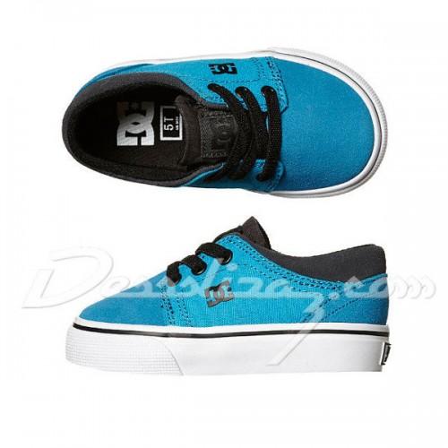 Zapatillas de bebé DC Trase Slip Blue/Black