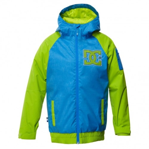 Chaqueta de snowboard DC Troop Youth Daphne-Solid