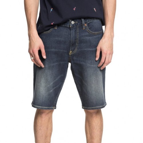 Bermudas DC Worker Straight Short Medium Stone