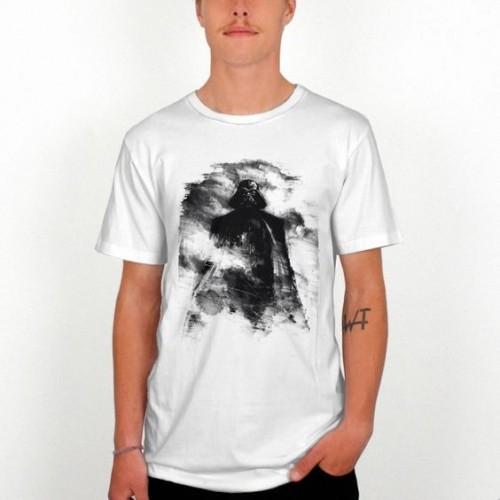 Camiseta Dedicated Sketch Vader Star Wars White