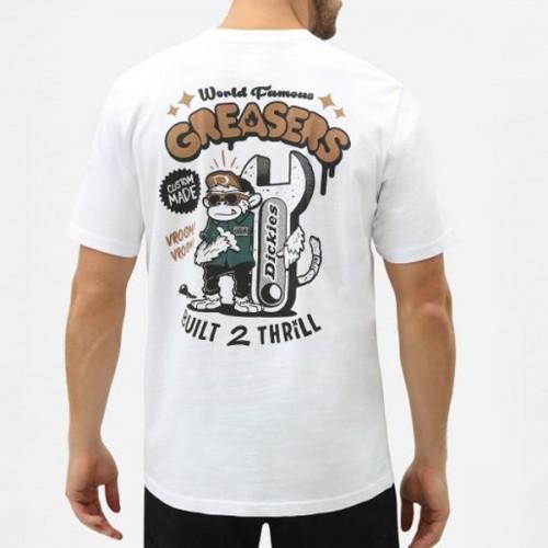 Camiseta Dickies Tarrytown White