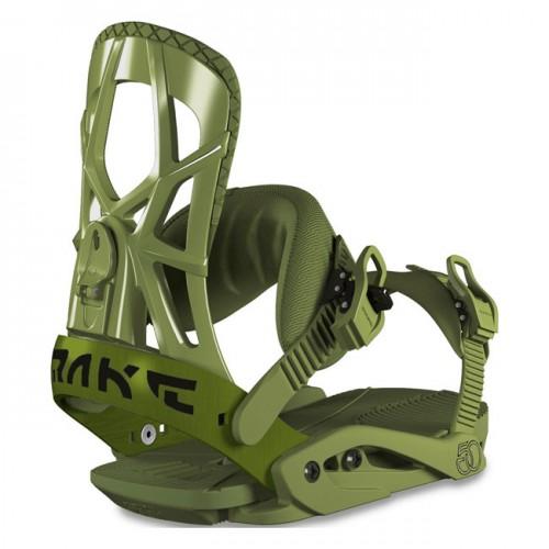 Fijaciones de snowboard Drake Fifty Army Green 2019