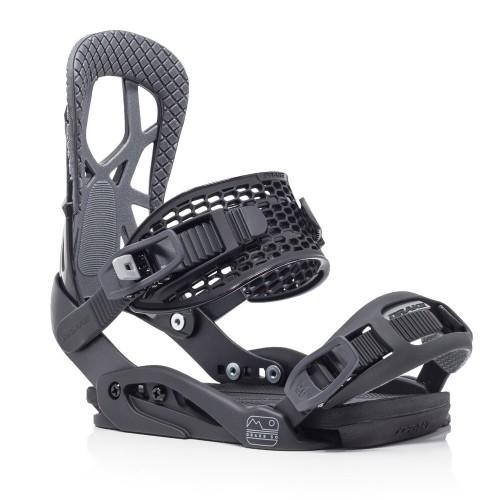 Fijaciones de snowboard Drake Fifty Black