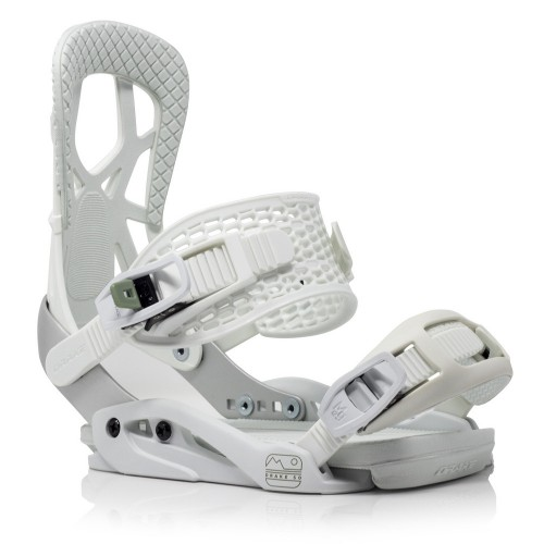 Fijaciones de snowboard Drake Fifty Light Grey