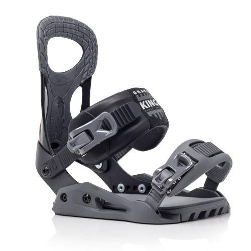 Fijaciones de snowboard Drake King Black