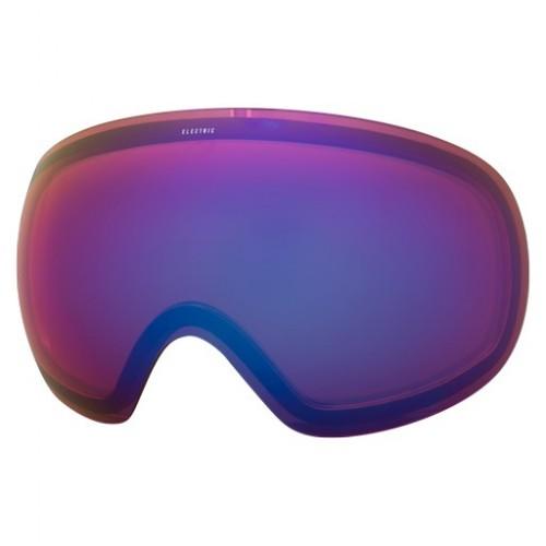 Lente de snowboard Electric EG3 Rose/Blue Chrome