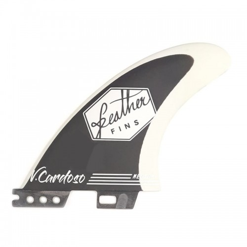 "Quilla de surf Feather Fins Fiberglass Clib Tab Willian Cardoso ""Panda"""