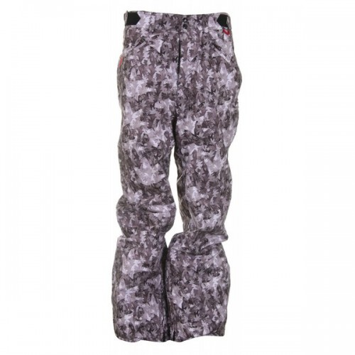 Pantalones de snowboard Foursquare B2 Lil Wong Pants Black Leaves