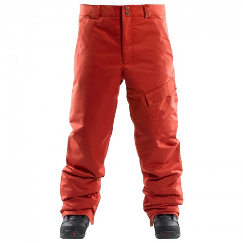 Pantalones de snowboard Foursquare Work Pants Red