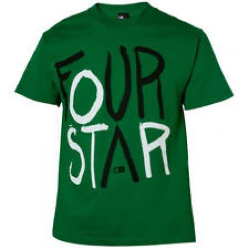 Camiseta Fourstar Clothing Fourblack Green