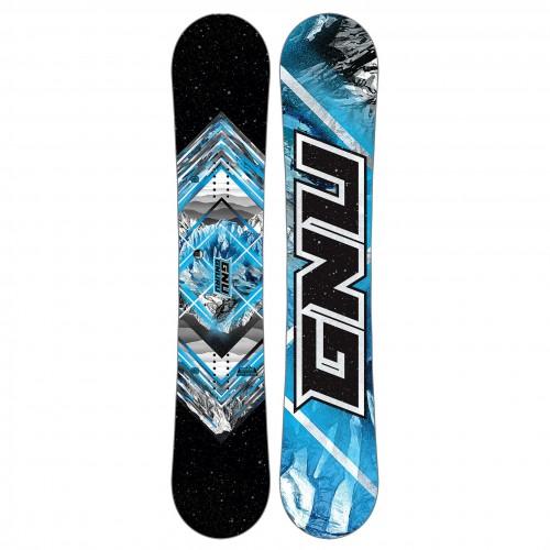 Tabla de snowboard GNU Gnuru Asym 2018