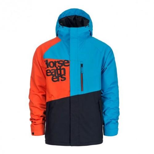 Chaqueta de snowboard Horsefeathers Clapton Blue