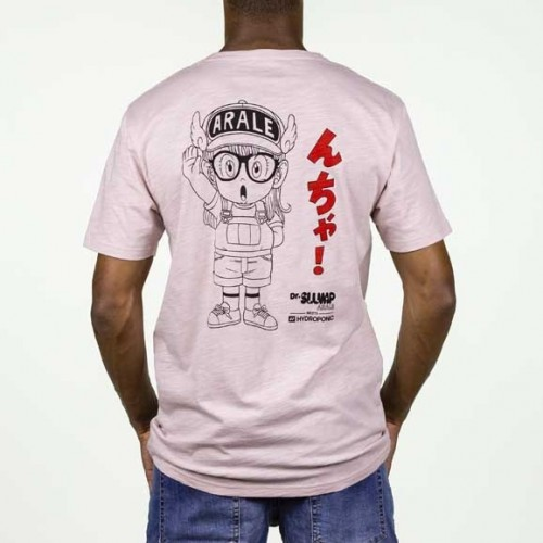 Camiseta Hydroponic Arale Tee Misty Rose