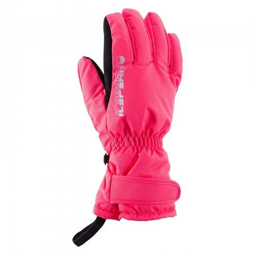 Guantes de snowboard Icepeak Dino Jr Hot Pink