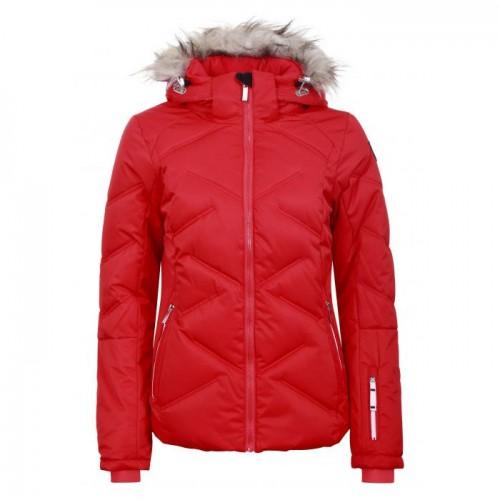 Chaqueta de snowboard Icepeak Elsah Coral Red