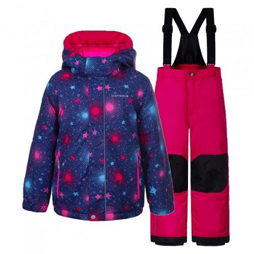 Chaqueta de snowboard Icepeak Jill Kd Hot Pink