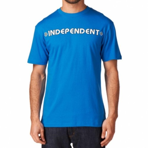 Camiseta Independent Bar Cross SS Tee Royal