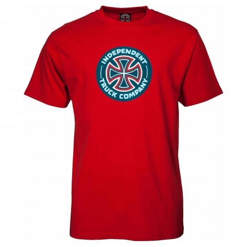 Camiseta Independent Combo TC Cardinal Red
