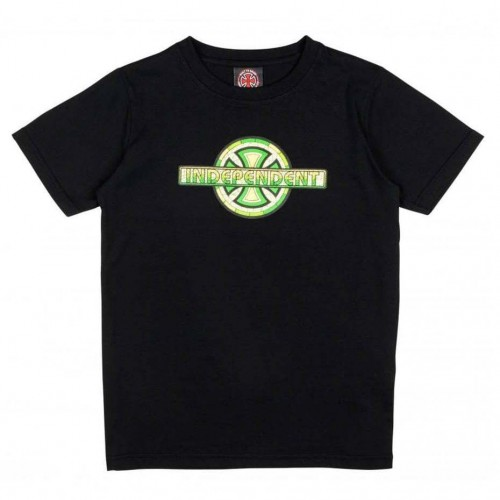 Camiseta Independent Stained Glass Youth Tee Black