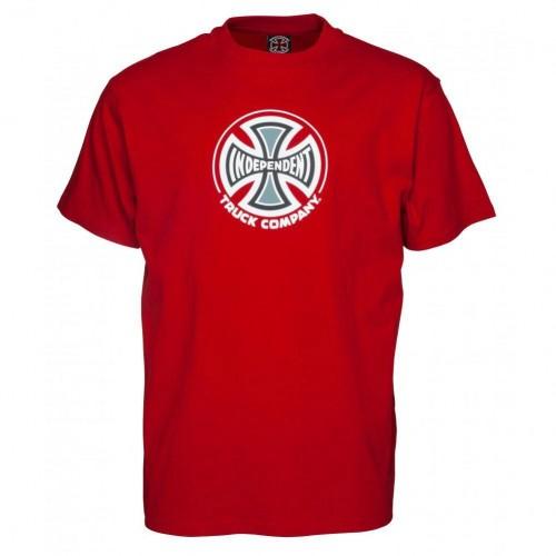 Camiseta Independent Truck Co Cardinal Red