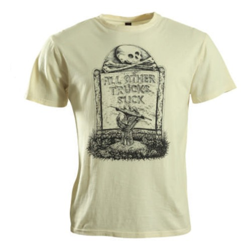 Camiseta Independent Undead Washed White
