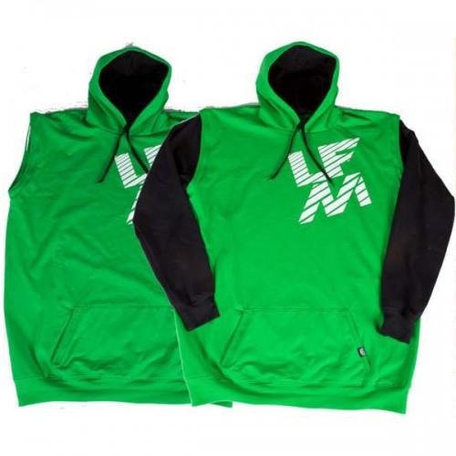 Sudadera LFM Vest Hoodie Verde
