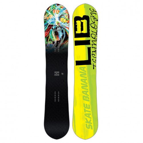 Tabla de snowboard Lib Tech Skate Banana Paril 2018