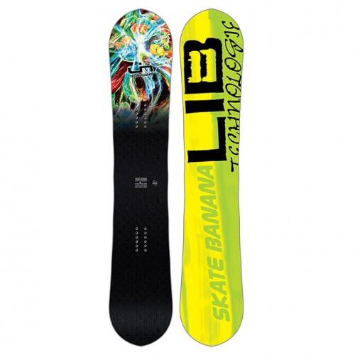 Tabla de snowboard Lib Tech Skate Banana Paril Wide 2018