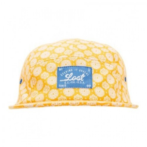 Gorra Lost Pocket Change XS Gold