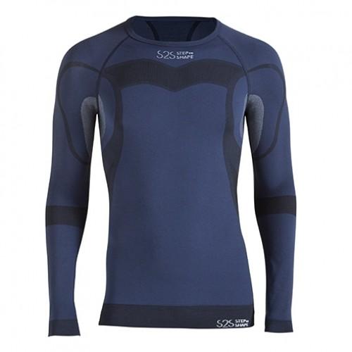 Camiseta de snowboard Lurbel S2S Win Night Blue
