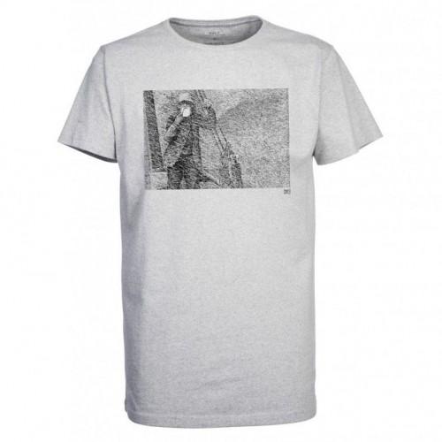 Camiseta Makia Fisherman Tee Grey