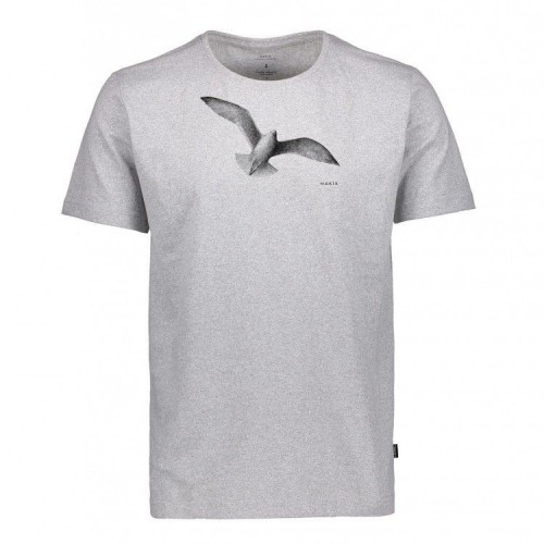 Camiseta Makia Gull Tee Grey