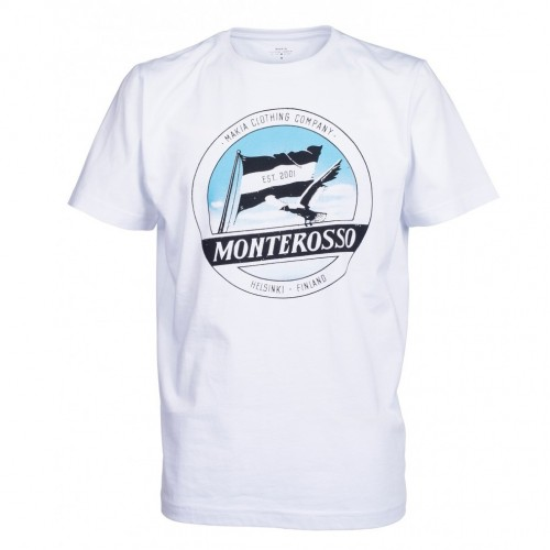 Camiseta Makia Label T-shirt White