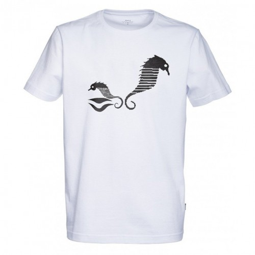 Camiseta Makia Sea Horse Tee White