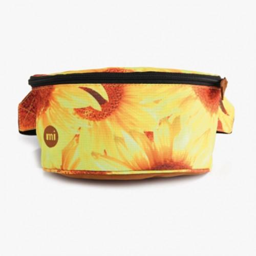 Riñonera Mi-Pac Bum Bag Sunflowers-Yellow