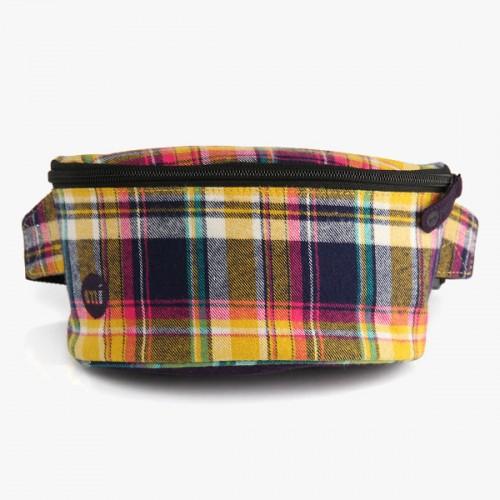 Riñonera Mi-Pac Bum Bag Tartan Navy