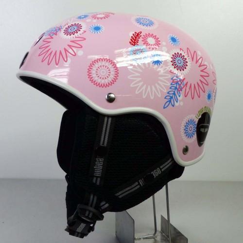 Casco de snowboard Nutcase Classic Helmet Pink Spirals