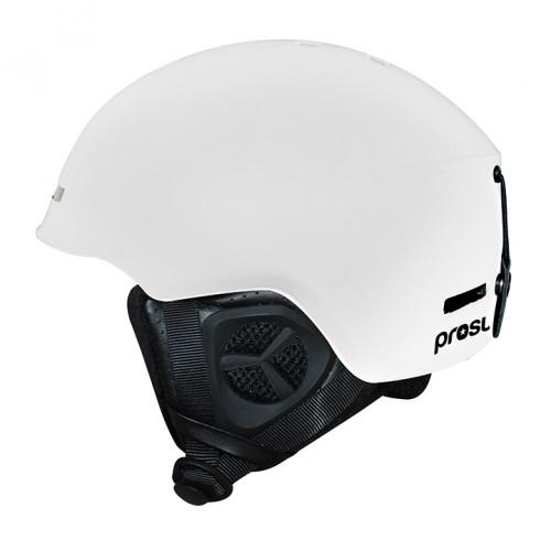 Casco de snowboard Prosurf Unicolor Mat White