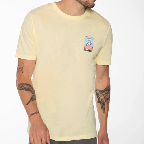 Camiseta Protest Isac Tee Afterglow