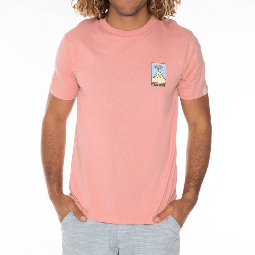 Camiseta Protest Isac Tee Silver Pink