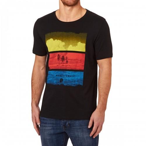 Camiseta Protest Lonely T-Shirt True Black