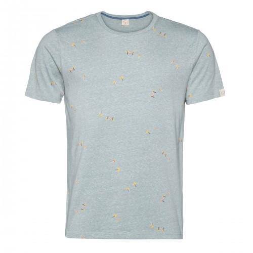 Camiseta Protest Tocco Tee Aqua Gray
