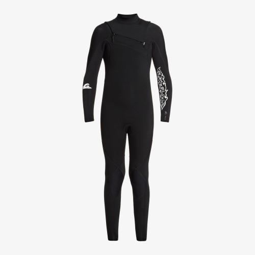 Neopreno de surf Quiksilver 4/3 Highline Ltd Boy CZ GBS Black