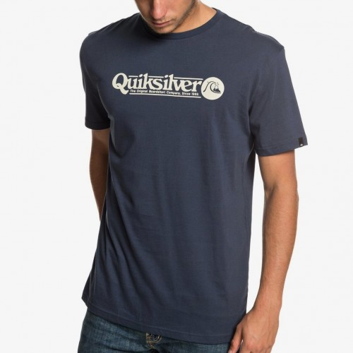 Quiksilver Art Tickle Tee Blue Nights