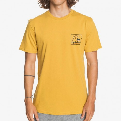 Camiseta Quiksilver Beach Tones Tee Honey