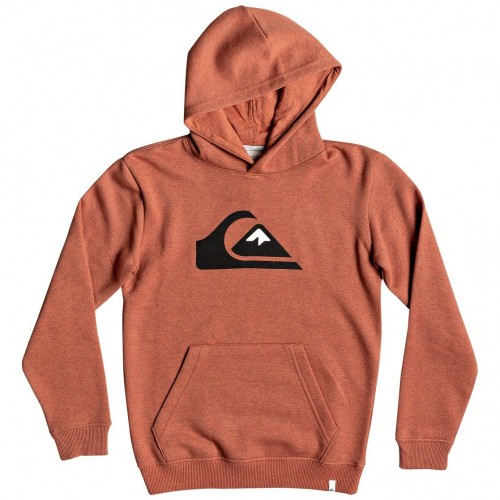 Quiksilver Big Logo Hood Youth Barn Red Heather