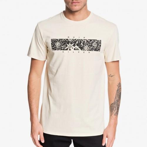 Camiseta Quiksilver Box Heat Brazilian Sand