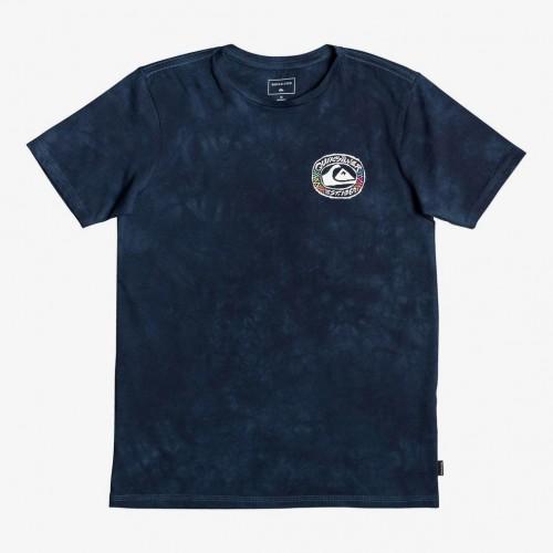 Camiseta Quiksilver Cave Out Yth Moonlit Ocean