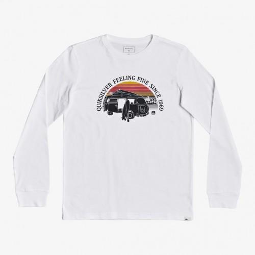 Camiseta Quiksilver Come Sail Away White